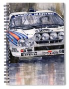 Lancia 037 Martini Rally 1983 Spiral Notebook