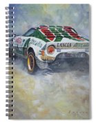 Lancia Stratos 1976 Rallye Sanremo Spiral Notebook