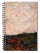 Land And Sky Spiral Notebook