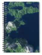 Land Of A Thousand Lakes Spiral Notebook