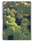 Land Of A Thousand Lakes II Spiral Notebook