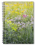 Land Of Flowers Spiral Notebook