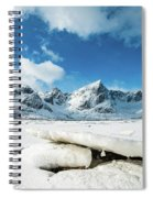 Land Of Ice And Snow Spiral Notebook