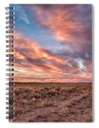 Land Of Sagebrush And Wild Horses Spiral Notebook