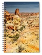 Land Of Sandstones Valley Of Fire Spiral Notebook