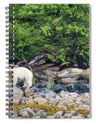 Land Of The Spirit Bear Spiral Notebook