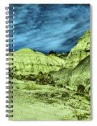 Land Of Turmoil Spiral Notebook