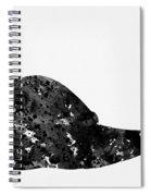 Land Snail-black Spiral Notebook