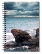 Land Water Sky Spiral Notebook