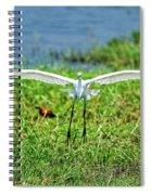 Landing Gear Down Spiral Notebook