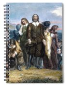 Landing Of Pilgrims, 1620 Spiral Notebook