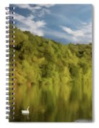 Landingville Lake Pennsylvania Spiral Notebook