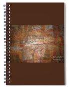 Landscape - Gold Spiral Notebook