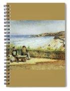 Landscape 02 Konstantin Makovsky Spiral Notebook