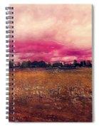 Landscape 1 Riga Spiral Notebook