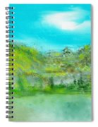 Landscape 101510 Spiral Notebook