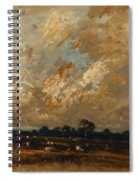 Landscape 1870 Spiral Notebook