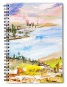 Landscape 3 Spiral Notebook