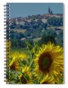Landscape 9 Spiral Notebook
