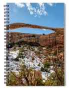 Landscape Arch - Arches National Park Moab Utah Spiral Notebook