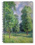 Landscape At Sevres Spiral Notebook