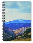 Landscape From Virginia Dale Spiral Notebook
