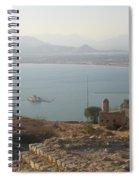 Landscape In Gold  Spiral Notebook