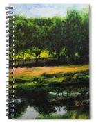 Landscape In North Wales Spiral Notebook