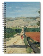 Landscape In Provence Spiral Notebook