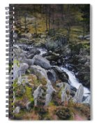 Landscape In Snowdonia Spiral Notebook
