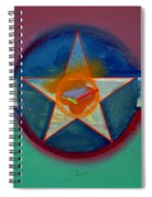 Landscape In The Balance Spiral Notebook