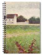 Landscape In The Ile De France Spiral Notebook