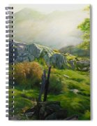 Landscape In Wales Spiral Notebook