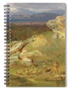 Landscape Near Corinth Spiral Notebook