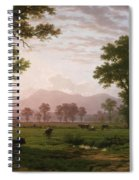 Landscape Near Lucerne With View To Mount Rigi Spiral Notebook