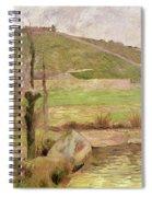 Landscape Near Pont Aven Spiral Notebook
