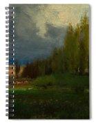 Landscape Study Spiral Notebook