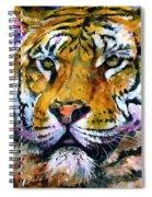 Landscape Tiger Spiral Notebook