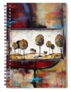 Landscape Vignettes-3 Spiral Notebook