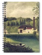 Landscape With A Fisherman Spiral Notebook