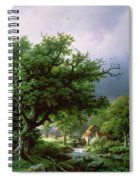 Landscape With A Mill Spiral Notebook