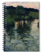 Landscape With A River Spiral Notebook