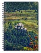 Landscape With Castle Spiral Notebook