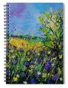 Landscape With Cornflowers 459060 Spiral Notebook