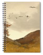 Landscape With Crows  Spiral Notebook