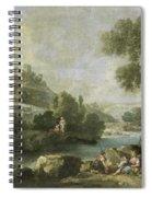 Landscape With Figures Spiral Notebook