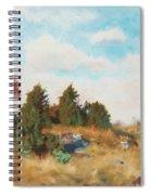 Landscape With Fox Spiral Notebook