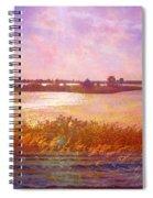 Landscape With Island 008 01 01 2016 Spiral Notebook