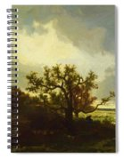 Landscape With Oaktree Spiral Notebook