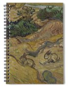 Landscape With Rabbits Saint Remy De Provence December 1889 Vincent Van Gogh 1853  1890 Spiral Notebook